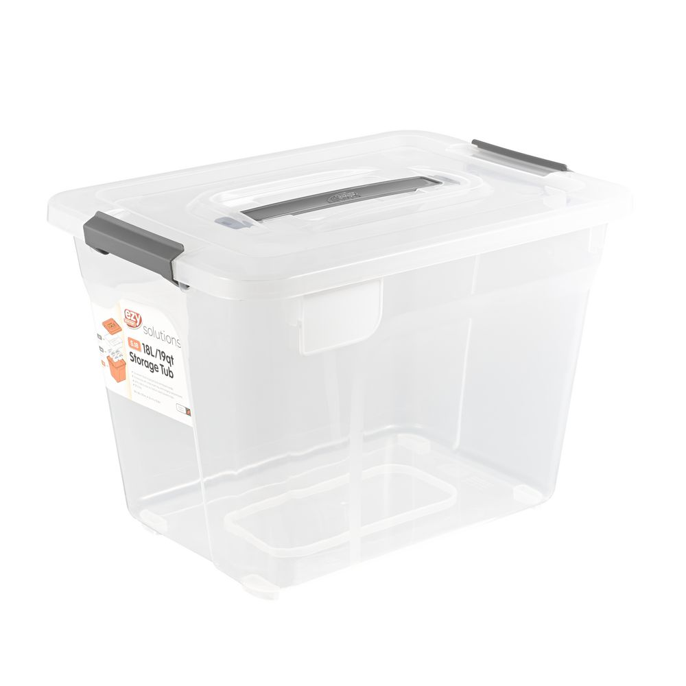 Ezy Storage Solutions 18l Container Officeworks
