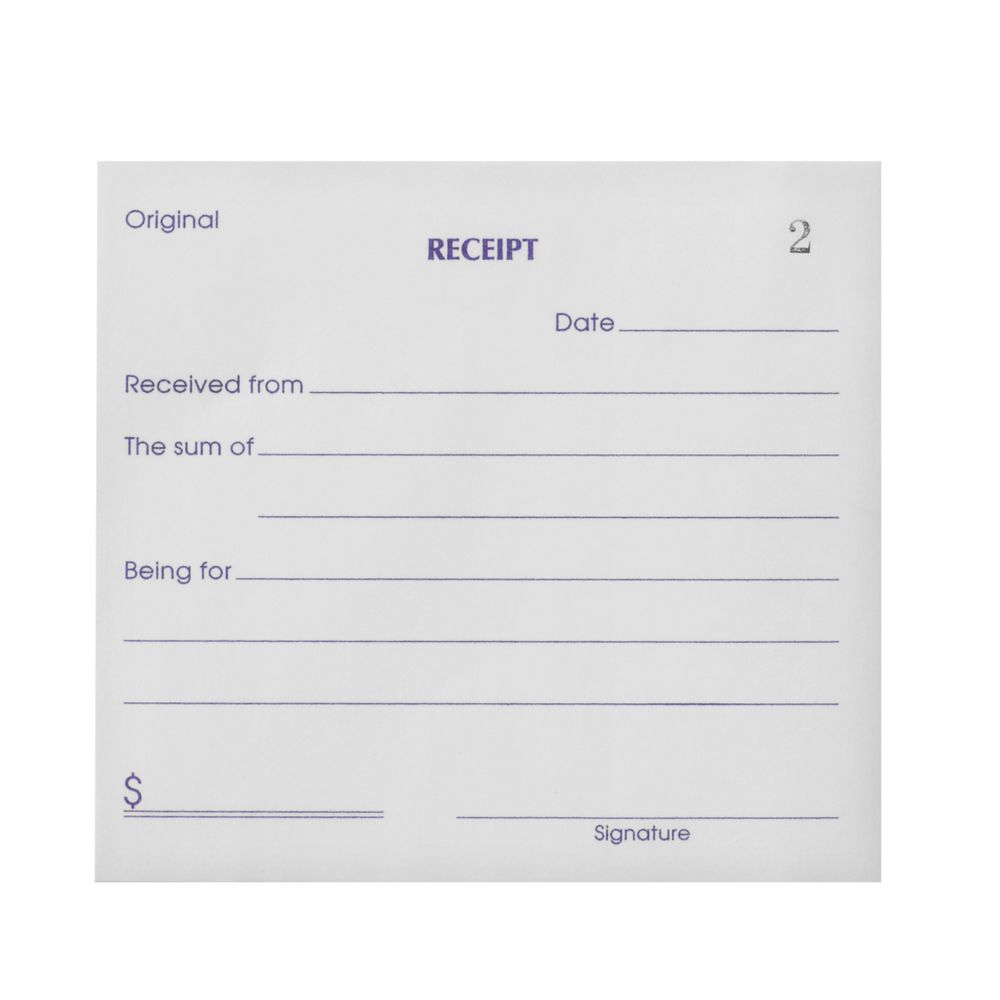 Olympic No.714 Carbonless Duplicate Cash Receipt Book ...