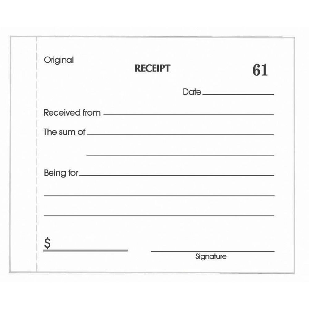 Olympic No714 Carbonless Duplicate Cash Receipt Book – Payment Receipt Book