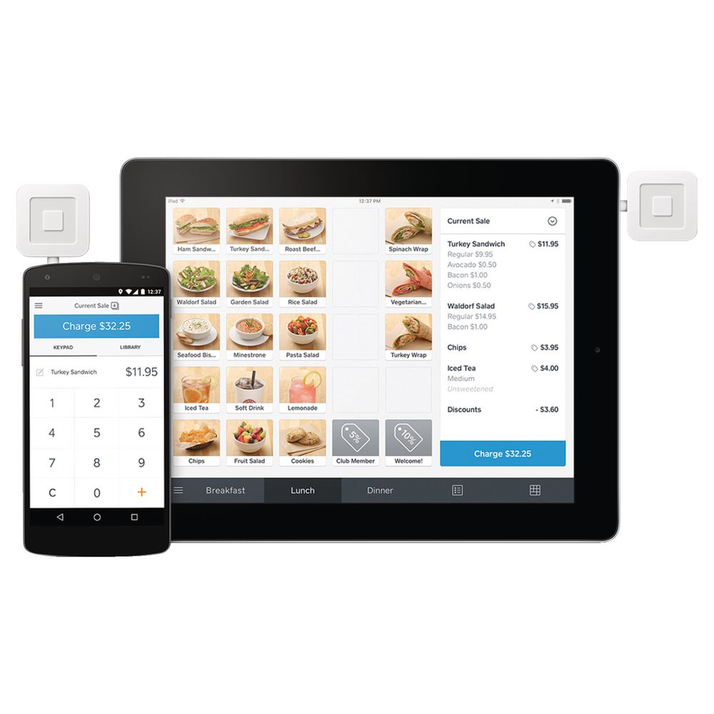 Square Chip Card Reader Payment Solution