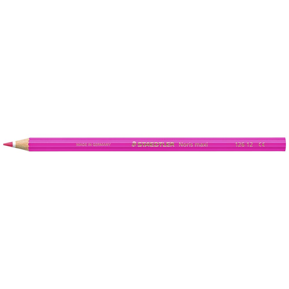 Pink Pack of 12 Staedtler Noris Colouring Pencil