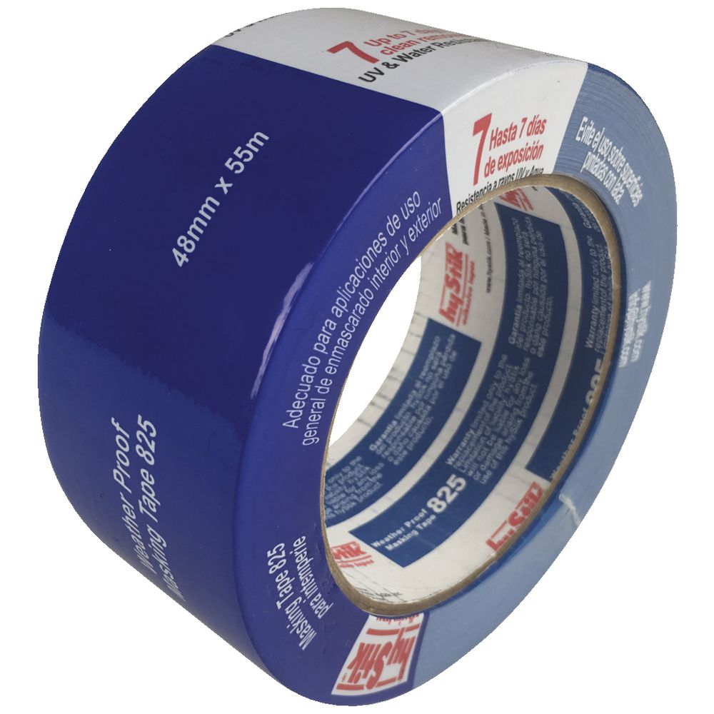Hystik 7 day removal outdoor masking tape 48mm x 55m officeworks for Exterior masking tape