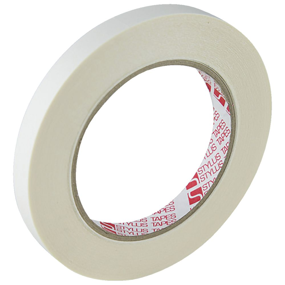 Stylus Double Sided Tissue Tape 12mm X 33m Officeworks