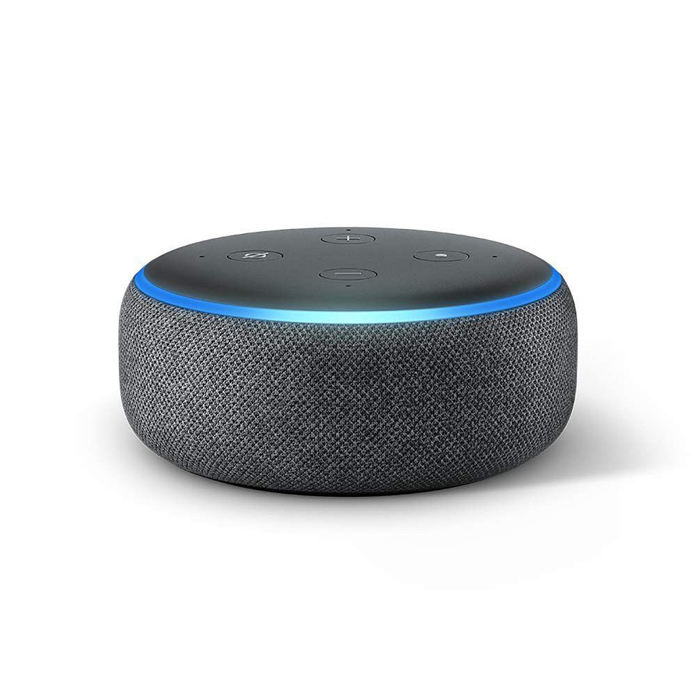 Amazon Echo Smart Alexa Speaker Black Charcoal Fabric New 2nd Generation