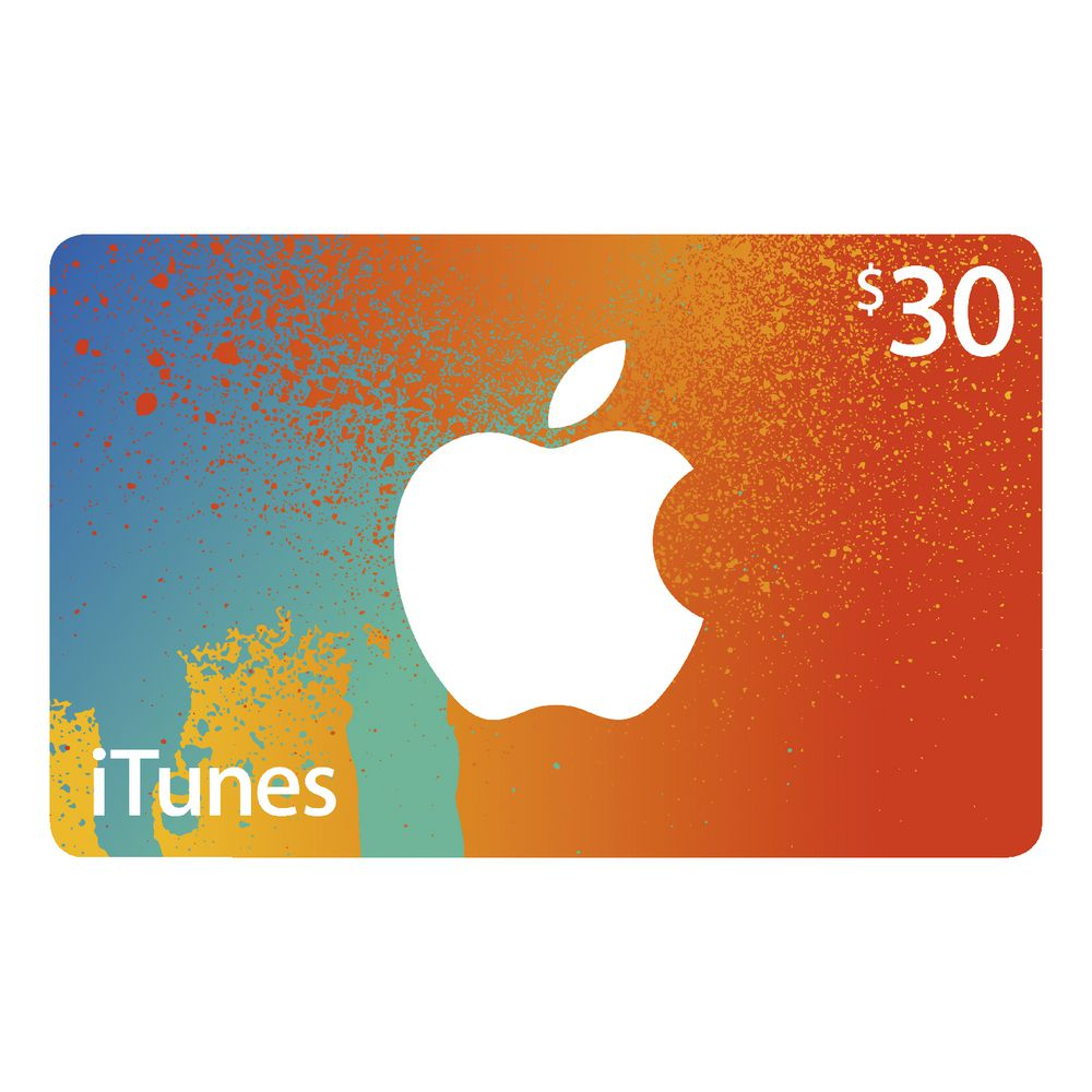 itunes gift cards officeworks