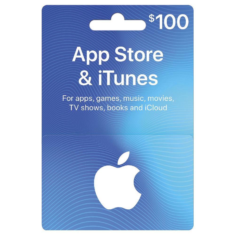 apple itunes card 100 officeworks. Black Bedroom Furniture Sets. Home Design Ideas