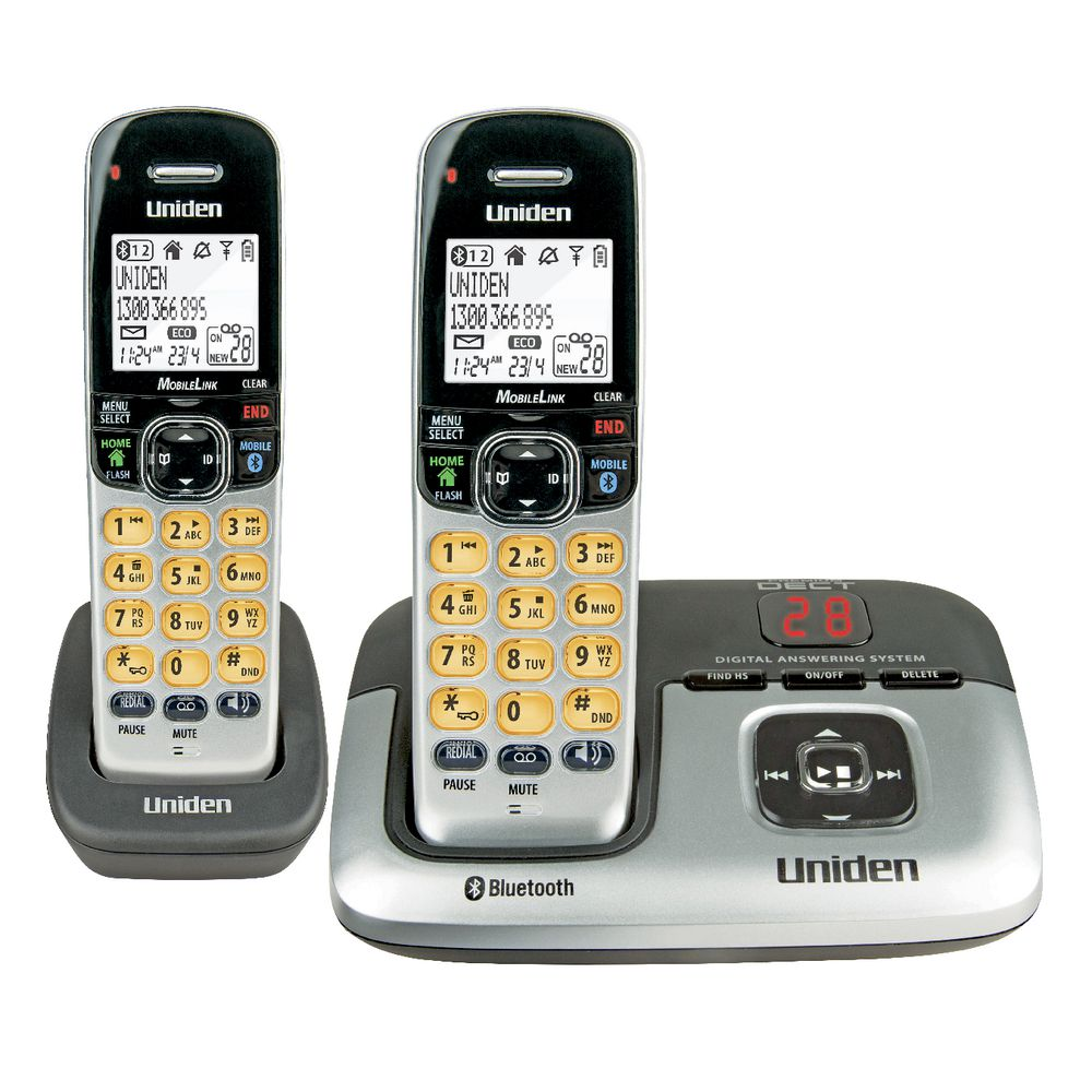 Uniden Cordless Phone Plus 1 Handset 3236+1  Officeworks