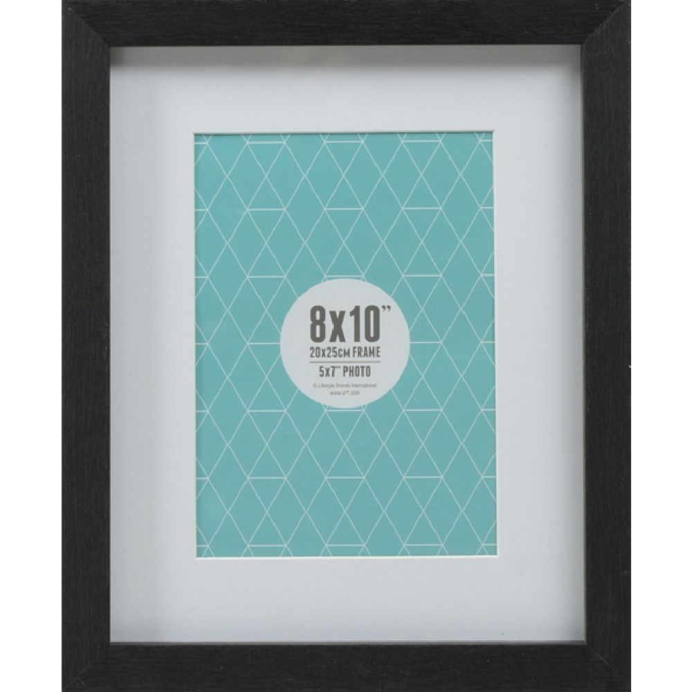 Promenade Frame 8 X 10 Quot With 5 X 7 Quot Opening Black