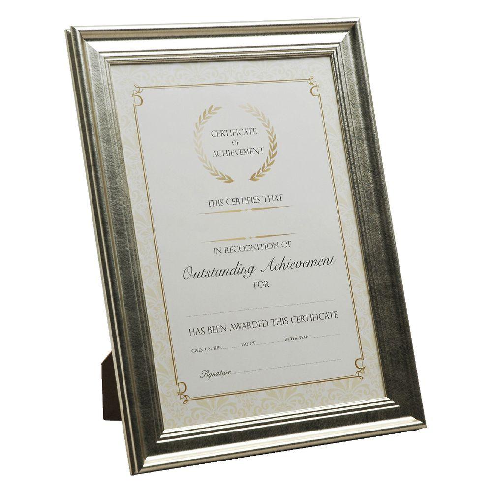 8c9c7585b6e0 A4 Certificate Frame Black