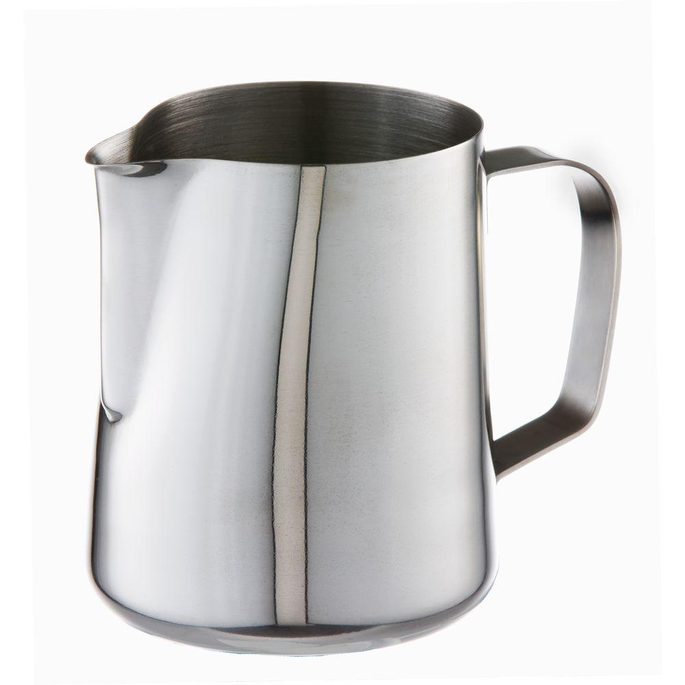 varello ml stainless steel milk jug  officeworks - varello ml stainless steel milk jug