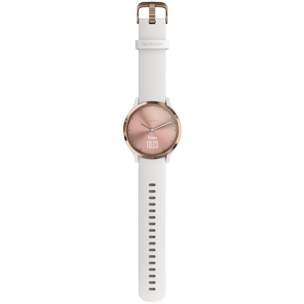 Garmin Vivomove HR Sport Smart Watch Small Rose Gold   Officeworks