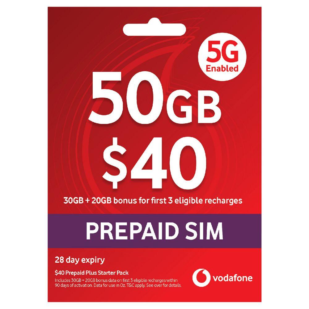Vodafone $40 Starter Pack