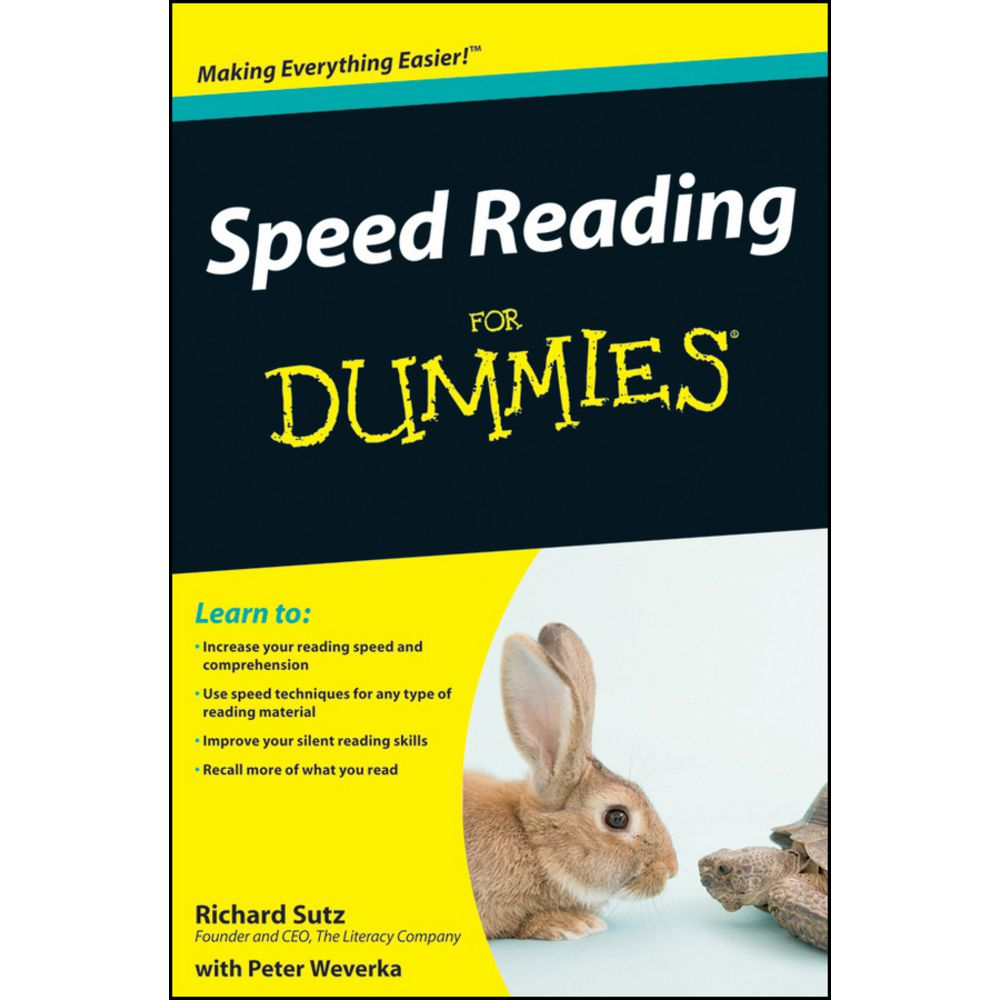 Speed Reading For Dummies Book | Officeworks