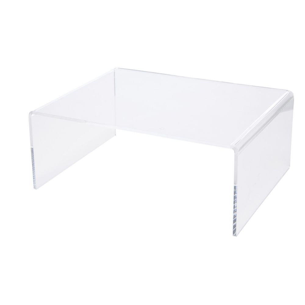 X Large Desk Riser Acrylic Clear