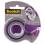 Scotch Expressions Tape 19mm x 7.6m Purple