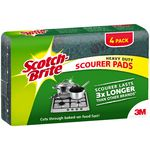 Scotch-Brite Heavy Duty Scourers 4 Pack
