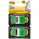 3M Post-it Flags Twin Pack Green