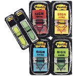 Post-it Sign Here Flags with Bonus Arrow Flags Value Pack