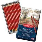 Derwent Drawing Tin Set 12 Pack