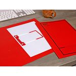 Avery Foolscap Tubeclip File Red