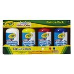 Crayola Paint-A-Pack Poster Paints 4 Pack