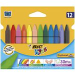 BIC Kids Triangular Crayons 12 Pack