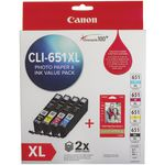 Canon CLI-651XL Photo Value Pack