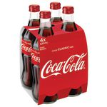 Coca-Cola Glass Bottles 330mL 24 Pack