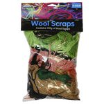 Colorific Wool Scraps Assorted 150g