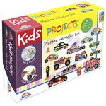 Kids Projects Plaster Craft Vehicles Set