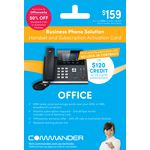 Commander Office Business Phone Card T46G