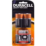 Duracell Coppertop D Batteries 4 Pack