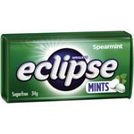 Eclipse Hard Pressed Mints Spearmint 34g 16 Pack