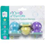 First Creations Easi-Grip Textured Stamps Assorted 3 Pack