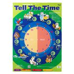 Gillian Miles Tell The Time Wall Chart