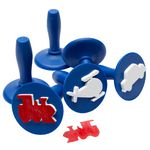 Educational Colours Paint Stampers Transport 6 Pack