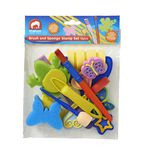 ELC Brush and Sponge Stamp Set 12 Pack