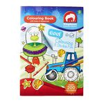 ELC A4 Cool Colouring and Sticker Fun Book