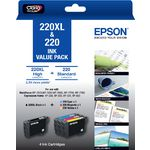 Epson 220XL Ink Cartridge Value Pack