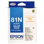 Epson 81N High Capacity Ink Cartridge Value Pack