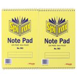 Spirax No. 563 Reporters Notebook 20 Pack