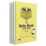 Spirax No.570 Notebooks 5 Pack