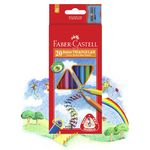 Faber-Castell Junior Triangle Thick Colour Pencils 20 Pack