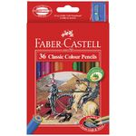 Faber-Castell Classic Coloured Pencils 36 Pack