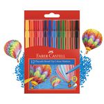 Faber-Castell Playsafe Colour Markers 12 Pack