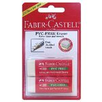 Faber-Castell PVC Free Eraser 2 Pack