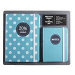 Otto 2016 Diary and Journal Set Teal
