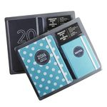 Otto 2016 Diary and Journal Set Black and Grey