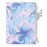 Otto A5 Canvas Journal with Zipper 192 Pages Tropical