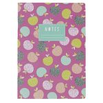 Go Stationery A4 Exercise Book Retro Orchid Pink 56 Page